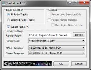 VASST free Trackalizer screenshot