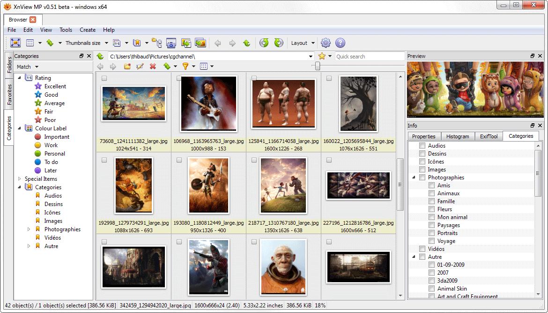 XnViewMP screenshot