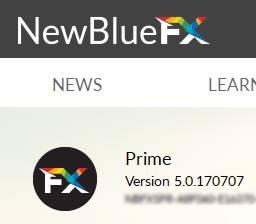 NewBlueFX Prime